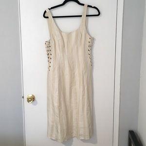 ASTR cream dress